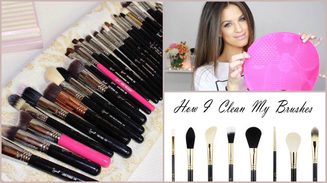 Clean My Makeup Brushes | Saubhaya Makeup