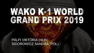 WAKO K-1 WGP 2019 | PÁLFI - SIDOROWICZ