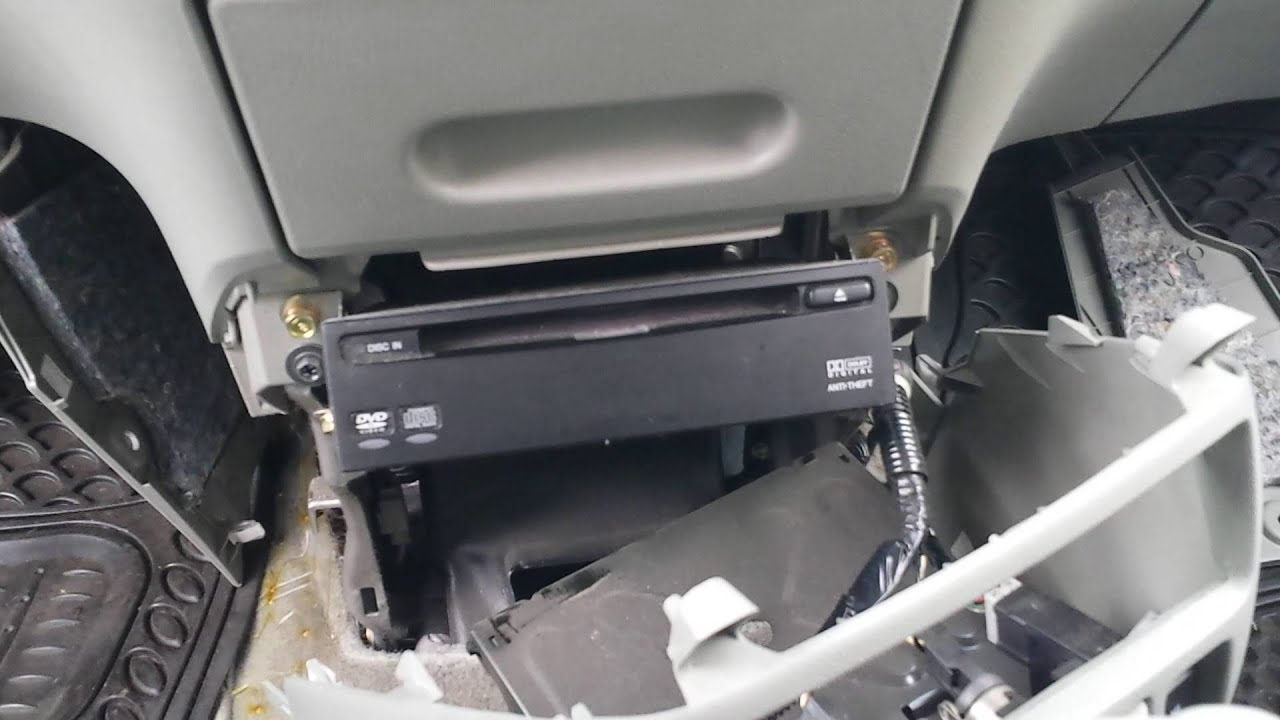 2003 Honda Odyssey Wiring Diagram How To Remove Dvd Player From Honda Odyssey 2005 For
