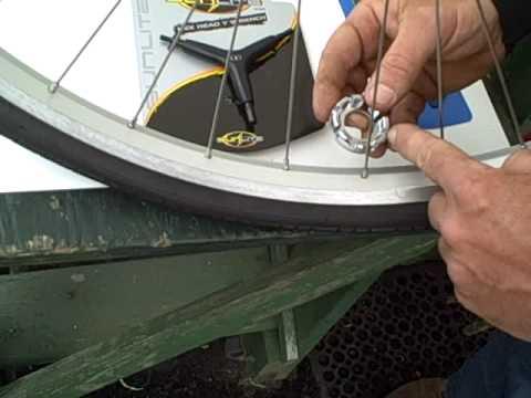 Vintage T Type Bicycle Mechanic Spoke Wrench tool