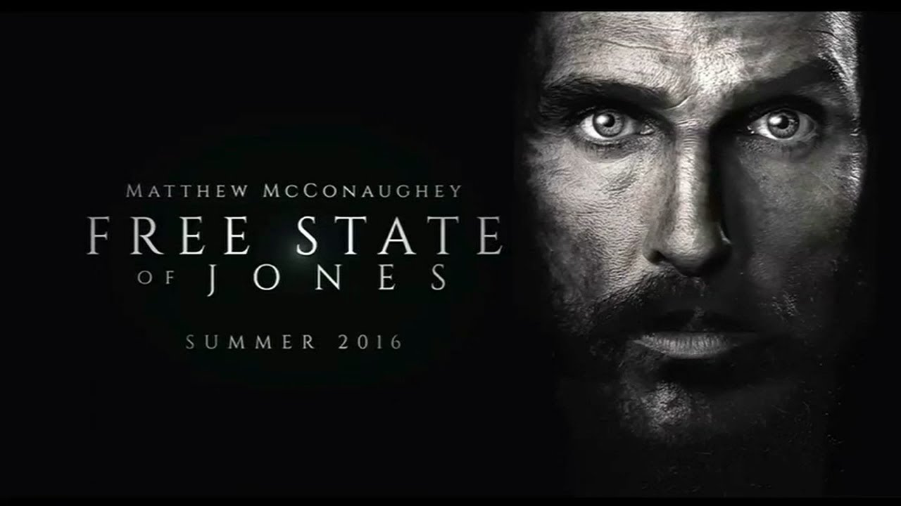 Ο ΕΠΑΝΑΣΤΑΤΗΣ ( FREE STATE OF JONES)  trailer with greek subs  mp4 FULL HD