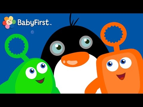 Fruits and Vegetables   Learning Cartoons for Babies  Bloop and Loop  BabyFirst TV