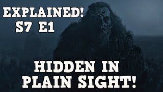 Game of Thrones Season 7 Episode 1 Dragonstone Explained | Easter Eggs Included