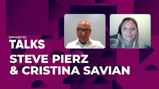 Global CRE & Contech in 2021   Drastic Talks with Steve Pierz & Cristina Savian