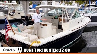 Hunt Surfhunter 32 OB: First Look Video Sponsored by United Marine Underwriters