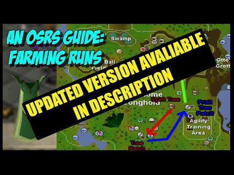 OSRS Guides - An Introduction To Farming Runs