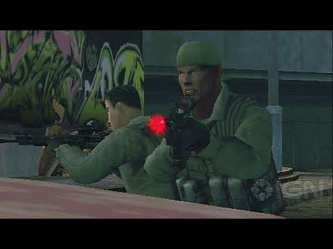 SOCOM: U.S. Navy SEALs Fireteam Bravo 3 Sony PSP Gameplay - SEALs Rule