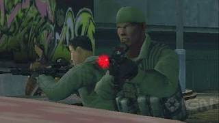 SOCOM: U.S. Navy SEALs Fireteam Bravo 3 Sony PSP Gameplay - SEALs Rule