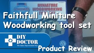 Faithfull Miniture Woodworking Tool Set