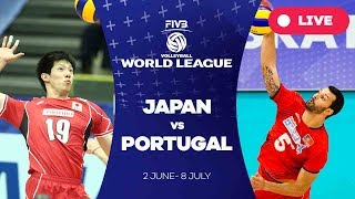 Japan v Portugal - Group 2: 2017 FIVB Volleyball World League
