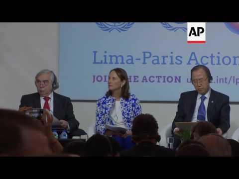 COP21: Ban, Royal and Moniz on renewable energy