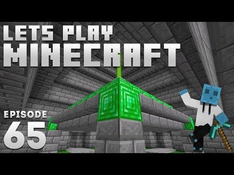 iJevin Plays Minecraft - Ep. 65: EMERALD TREASURE! (1.14 Minecraft Let's Play)