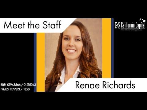 Meet the Team: Renae Richards