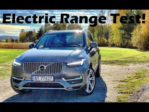 2018 Volvo Xc90 T8 Electric Range Test Can We Go 30 Miles On A Charge