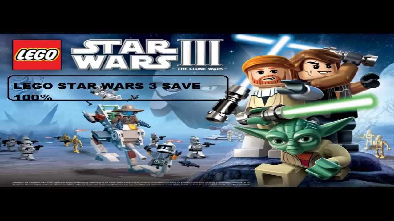 Lego Star Wars Iii Clone Wars Savegame 100 Youtube