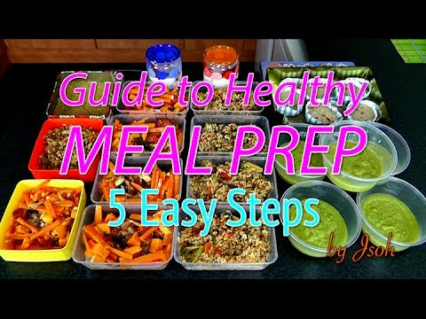 Best guide to healthy meal prep 5 easy steps youtube forumfinder Choice Image