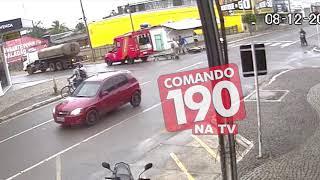 Video do acidente que vitimou o Policial Militar