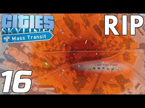 R.I.P. Stadtzentrum | Cities: Skylines #16 | Valle Lets Play