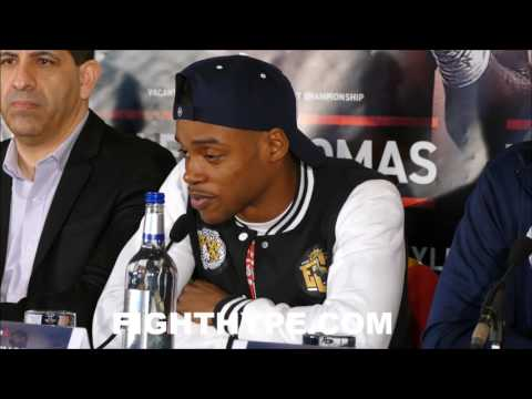 """ERROL SPENCE WARNS KELL BROOK THERE WILL """"DEFINITELY"""" BE DRAMA; INSISTS HE'S TOP DOG AT 147"""