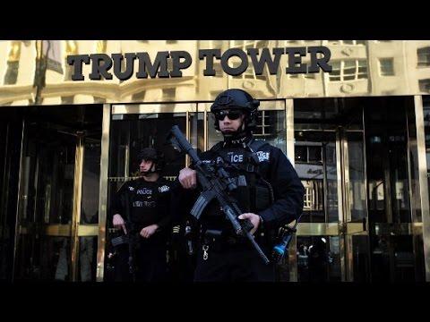 Trump Tower security: a 'Big Apple' headache