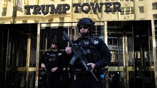 Trump Tower security: a
