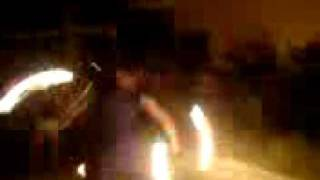 danny fire doble staff psycho dance 2 party