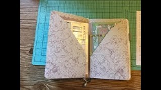 This is a DIY video showing how to make a double pocket folder inse...