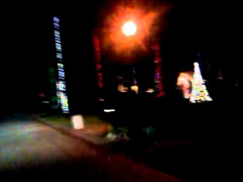 Christmas lights off Girvin Rd. Jax, FL - YouTube