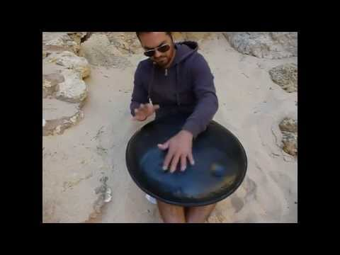 how to make a hang drum out of a wok