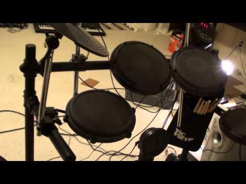 Alesis DM6 Electronic Drum Kit Demo