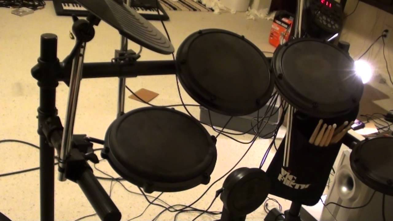 Alesis DM6 Electronic Drum Kit Demo