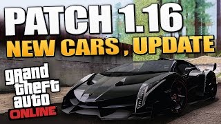 GTA 5 Patch 1.16 - New Cars Info & Channel Update and More ! (GTA 5 DLC)