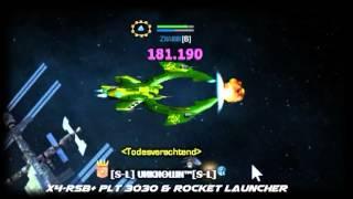 Darkorbit - DMG Test with Demon Drones [Leonov]