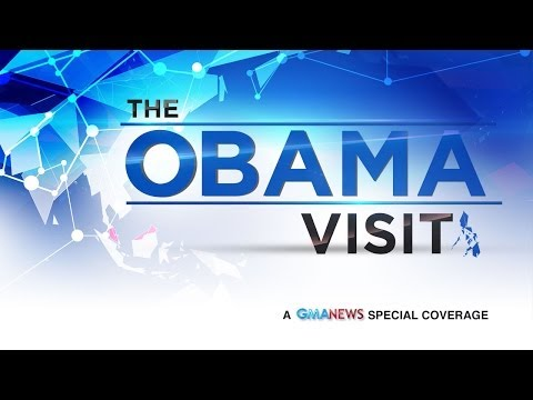 Livestream: Barack Obama in Manila (April 28, 2014)