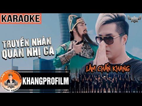 KARAOKE TRUYỀN NHÂN QUAN NHỊ CA   LÂM CHẤN KHANG   OST NGƯỜI TRONG GIANG HỒ P.6 thumbnail