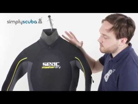 Seac Sub Masterdry Semidry Suit - www.simplyscuba.com