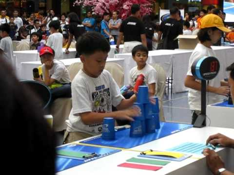 Speed stacking National Competition at The Mall of...