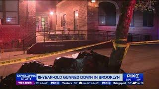 18-year-old gunned down in Brooklyn