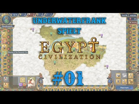 Pre-Civilization Egypt #01 - Angespielt | Es war einmal 5000 Jahre B.C. in Ägypten | German