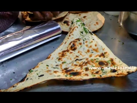 How to Make the Perfect Naan Bread   INDIAN FLAT BREAD    MAKING OF BUTTER NAAN   बटर नान
