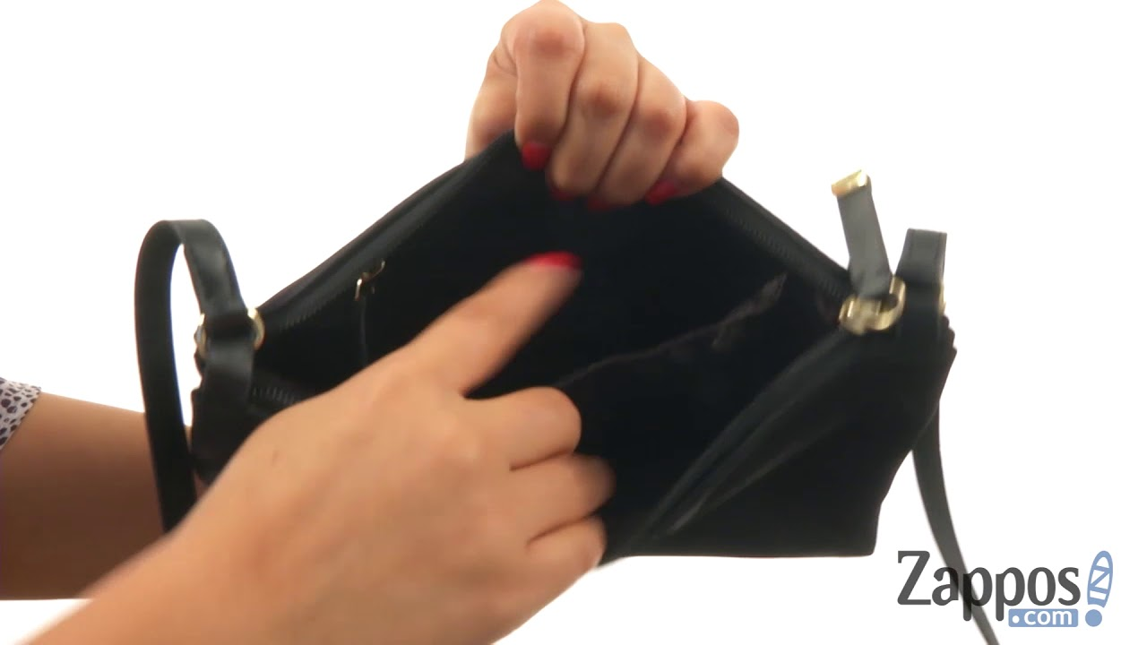 55b1229c672 Calvin Klein Lucy Nylon Top Zip Crossbody SKU: 9028673 - YouTube