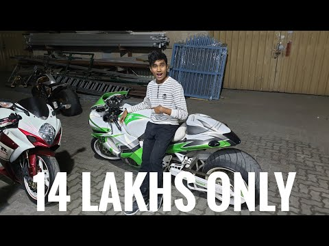 USED SUPERBIKE SHOPPING IN DUBAI  ONLY 14 LAKHS 
