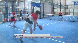 Bois d'Arcy : Les qualifications au championnat de France de Padel