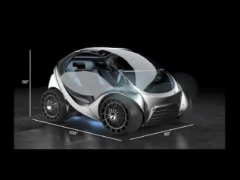 Elektroauto Hiriko: Zum Parken zusammenfalten