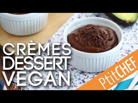 recette-de-crèmes-dessert-vegan-au-chocolat,-banane-et-avocat---ptitchef.com