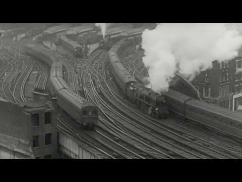 Vintage railway film - Reshaping Britains railways - 1963