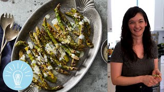 Bryant Terry's Asparagus With Lemon-pepper Marinade | Genius Recipes