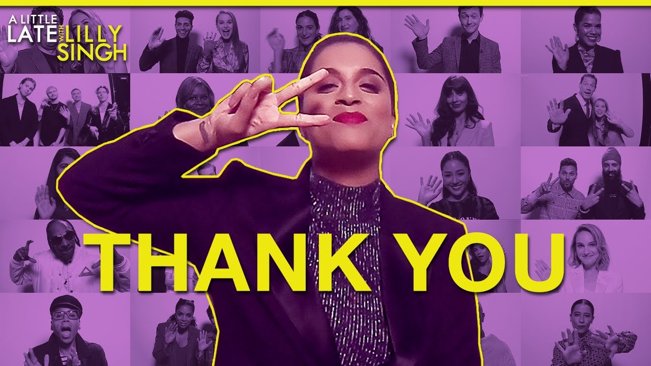 Thank You for a Great First Season of A Little Late with Lilly Singh