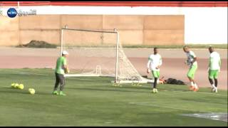 تحضيرات المنتخب الوطني بمركز سيدي موسى تحسبا لمواجهة المنتخب المالي