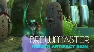 WoW Legion: BREWMASTER MONK HIDDEN ARTIFACT SKIN!